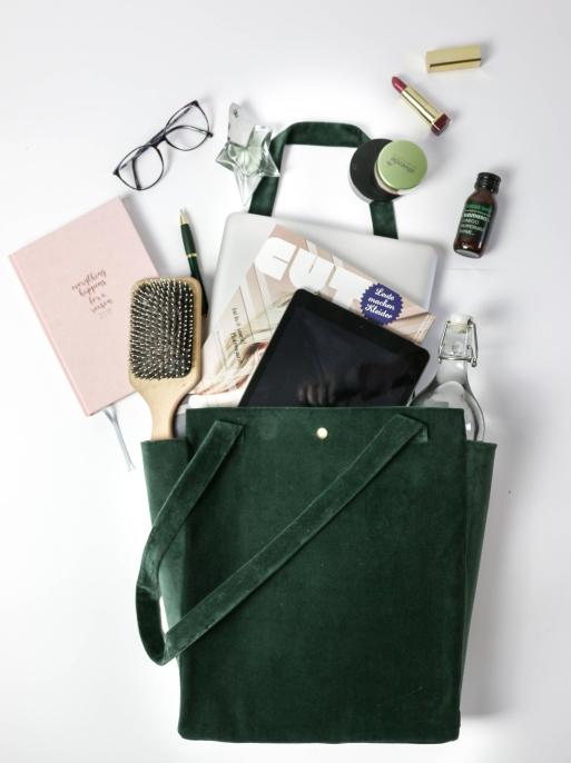 DIY Velvet Tasche Samt5 faltlay