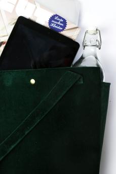 DIY Velvet Tasche Samt5