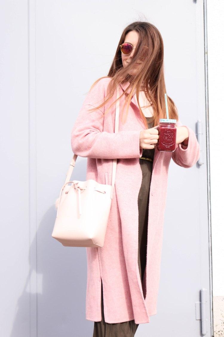 Millennial Pink Smoothie Mansur Graviel