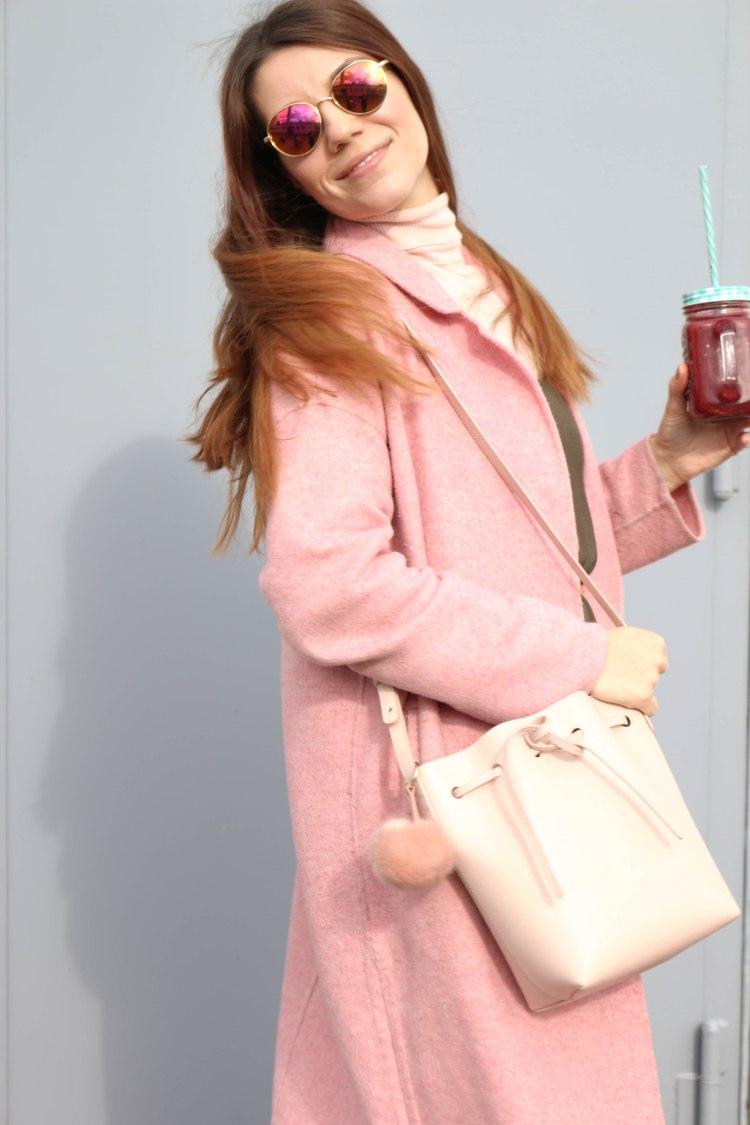 Tasche Mansur Graviel Rosa Millennial Pink