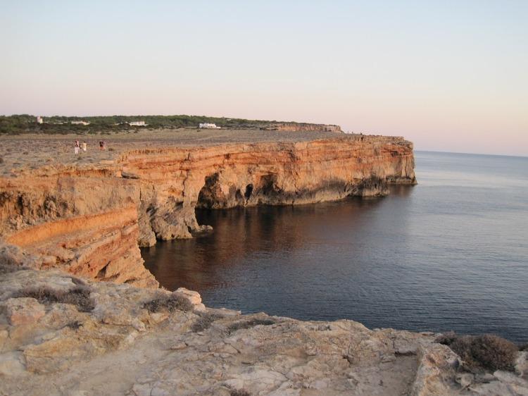 formentera cliff